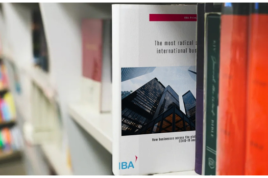 IBA Research Report 1 - Cover image